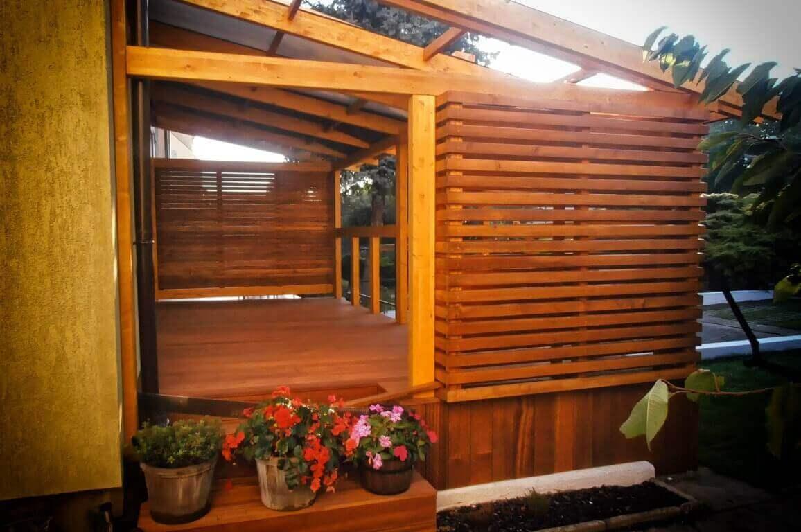 Zabudowy z drewna